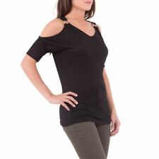 Patternless V Neck Semi Fitted Tops & Shirts for Women