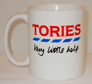 Tories Very Little Help Mug Can Personalise Funny Politics Work Supermarket Gift