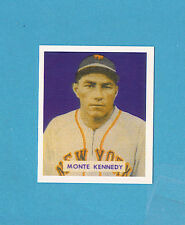 1949 Bowman Monte Kennedy #237 Baseball Card