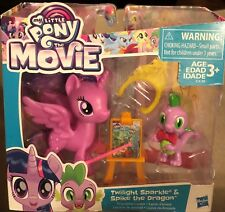 My Little Pony the Movie Twilight Sparkle & Spike The Dragon Friendship Lesson