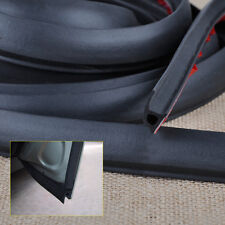 4M P Type Rubber Door Edge Weatherstrip Hollow Sealing Car Auto Truck Trim Strip