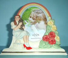 "Lenox Wizard of Oz Dorothy & Toto Picture Frame 4x6"" New"