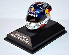 Arai Helmet Sebastian Vettel Suzuka 2011 World Champion 1:8 Minichamps
