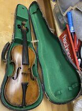 Alte Geige Cesare Candi Genova Anno 1792 mit Koffer