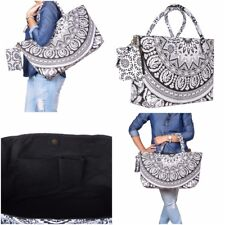 New Shopping Bag Women Tote Handbag Shoulder Travel Cotton Waterproof Stylish
