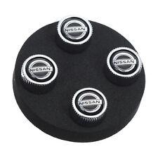 Nissan Tire Valve Stem Caps Set of 4 OEM NEW Genuine 999MB-SX000 Fit MOST Models