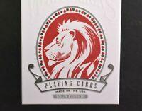 David Blaine White Lions Tour Edition Playing Card 2 Decks Magic Marked Made USA