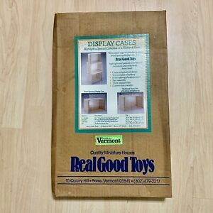 RARE LARGE Room Box Display Case Kit By Real Good Toys