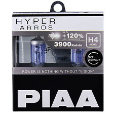 PIAA Hyper Arros H4 Voiture Remplacement Phares Ampoules +120% (Twin Pack) HE900