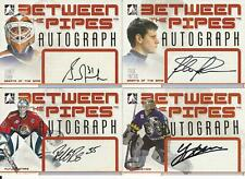 2006-07 IN THE GAME BETWEEN THE PIPES GRANT FUHR AUTOGRAPH