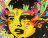 Huge Graffiti Street Art Girl Face Banksy Print Large Canvas Painting Australia