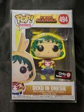 Funko Pop! My Hero Academia #494 Deku In Onesi - GameStop Exclusive w/ Protector