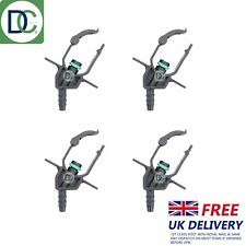4 x Delphi Injector Back Leak Off Connectors for Ford Mondeo 2.2 TDCi