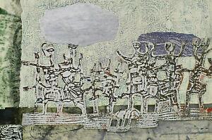 Hermann Ober 1920 - 1997 - Horseman Rider ?Dancing Menschen?