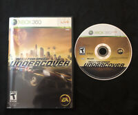 Need for Speed Undercover — Cleaned/Tested! Fast Shipping! (Xbox 360, 2008) NFS