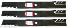 "3PK 396-775 Oregon Gator Blades Compatible With 72"" John Deere M141786"