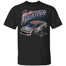 Men's #43 Bubba Wallace Air Force Warthog Short Sleeve Black T-Shirt S-5XL