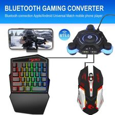 Portable Mobile PUBG Gaming Bluetooth Keyboard Mouse Converter for Android IOS