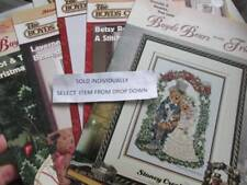 Boyds Bears Collection Cross Stitch CHART Your Choice, Stoney Creek