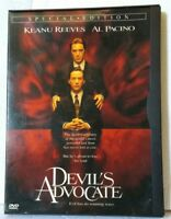 Devil's Advocate Special Edition DVD Warner Brothers 1998