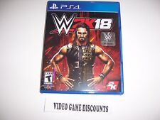 Original Box Case Replacement Sony PlayStation 4 PS4 WWE 2K18