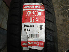 195/80/R15 GENERAL XP2000 US4 NEW TYRE
