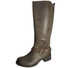 Kniehohe Stiefel aus Echtleder in EUR 38