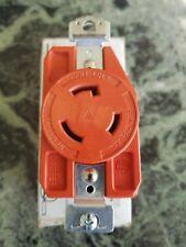 NEW ARROW HART IGL520R Twist Turn Locking Recept. Outlet, 20A, 125V, 3 Wire Gnd.