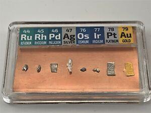 GM 1/4 Grain Rhodium Iridium Osmium Ruthenium Palladium Gold Platinum COPPER