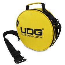 UDG Ultimate DIGI Headphone Bag Yellow for DJ Headphones, Cables & USB's etc