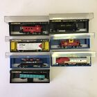 Bachmann N Scale Used Engine And Freight Car Caboose Lot Vtg (A8)