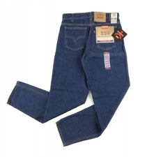 Levis 550 Jeans New With Tags size 31x32 Dark Wash Tapered Leg 90s