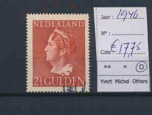 LN18315 Netherlands 1946 queen Wilhelmina fine lot used cv 17,75 EUR