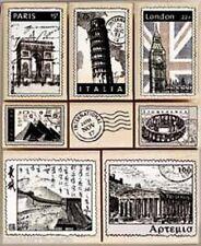 INTERNATIONAL TOUR DE LUXE Stamp Set LL759 Hero Arts Brand NEW!