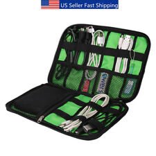 Electronic Accessories USB Cable Travel Organizer Case