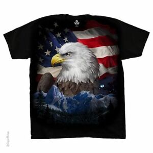 Southwestern American Icon Eagle T-Shirt United States of America U.S.A.