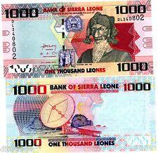 Sierra Leone Billet 1000 Leones 2010 P10 SATELITE / BAI BUREH NEUF UNC