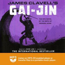 James Clavell / Gai - Jin / Audio Book on 4 x MP3's / Unabridged