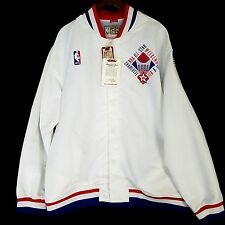 100% Authentic Mitchell Ness 1991 NBA All Star Warm Up Jacket 4XL 60 jordan 91