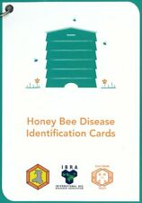Beekeeping Honey Bee Disease Identification Cards FREE P&P