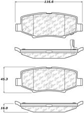 Disc Brake Pad Set fits 2007-2018 Jeep Wrangler Liberty Wrangler JK  CENTRIC PAR