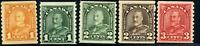 Canada #178/183 mint F/VF OG NH/H/HR 1930-1931 King George V Arch/Leaf Part Set