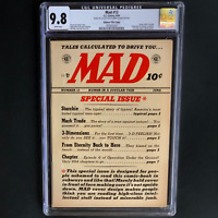 MAD #12 (EC 1954) 💥 CGC 9.8 White Pgs ~ 1 OF ONLY 4! 💥 Archie Parody