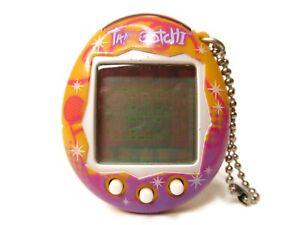 Tamagotchi Music Star Connection V6 UK Version Orange Pink Idol Dream Tested Toy