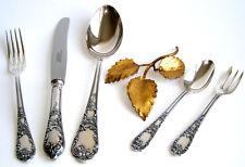 Wunderschönes Rokoko Silberbesteck für 6 oder 12 Personen 90er Silber Neuwertig