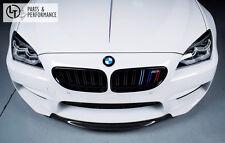Carbon Front Lippe Spoiler für BMW M 6er Coupe Cabrio Gran Coupe F12 F13 F06 M6
