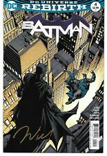 Batman 4 Signed by Jordie Bellaire DC Autographed Rebirth Gotham Duke Thomas