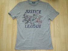 MENS JUSTICE LEAGUE T SHIRT SIZE SMALL IN GREY FROM TESCO