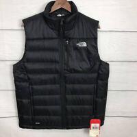 New The North Face Men's Black Aconcagua Vest Size M Medium Sleeveless Jacket