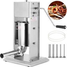 New Listingsausage Stuffer Vertical Stainless Steel 10l Meat Filler Pork Press